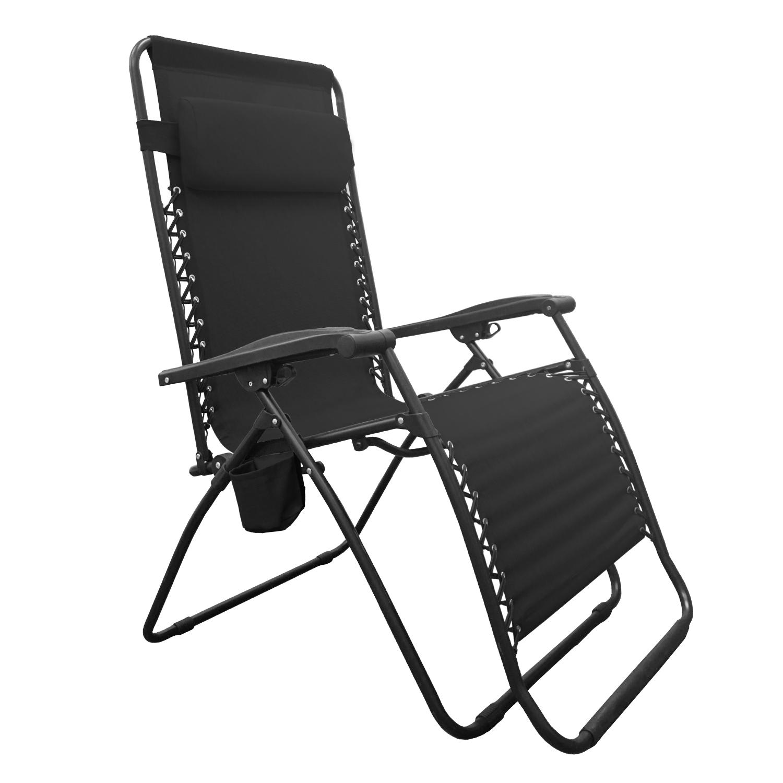 Big Boy Zero Gravity Chair Black